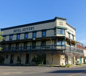 Hotel Jeffery on Coulterville Main Street