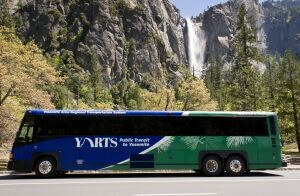 Water Falls Tour Bus