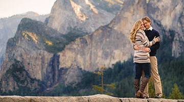 Romantic Ideas in Yosemite for Valentine's Day