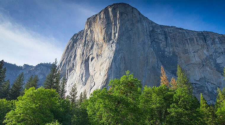 El Capitan in spring by Chris Migeon