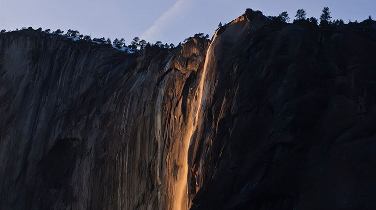 Exploring Firefalls, Waterfalls and Wildflowers in Yosemite This Winter and Spring
