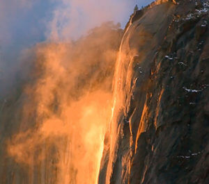 Horsetail Fall/Firefall