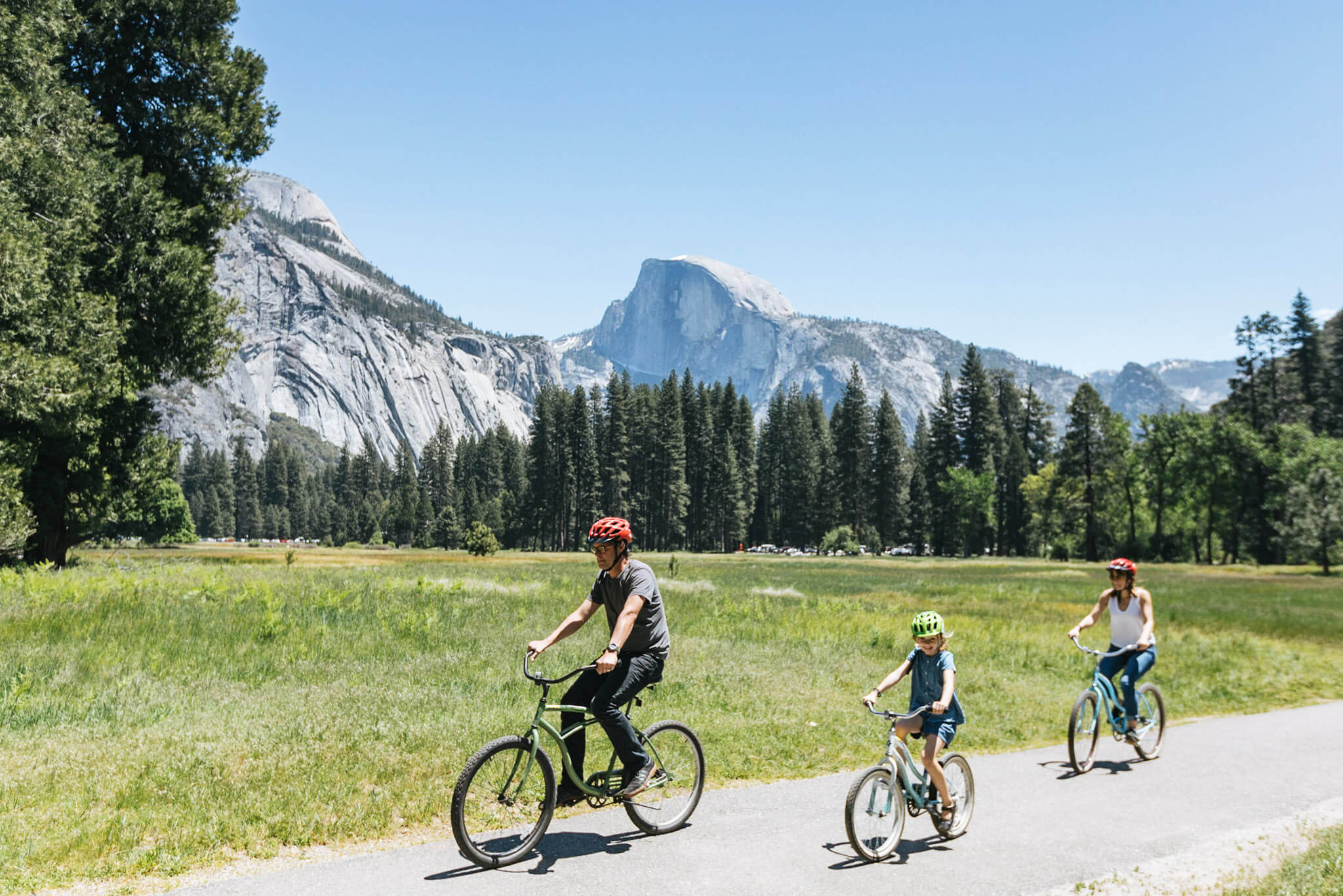 biking yosemite