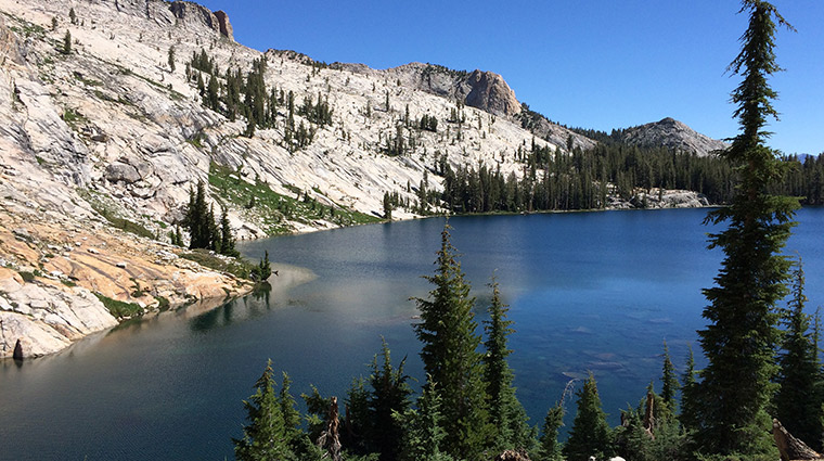 May Lake & Mount Hoffmann