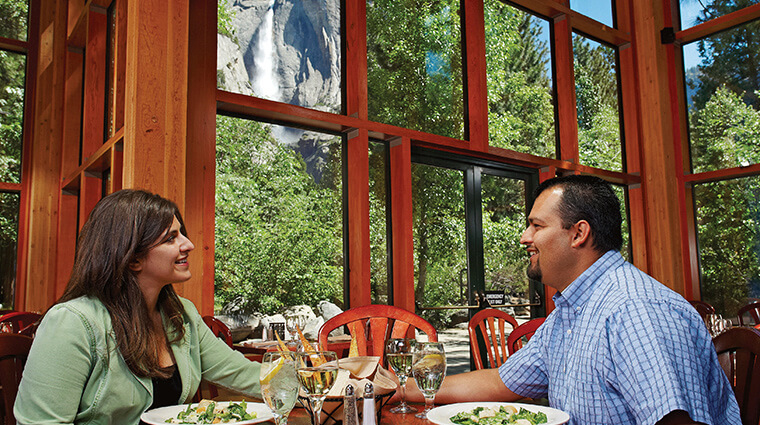 Mountain Room Restaurant Yosemite - another one of the best restaurants in Yosemite