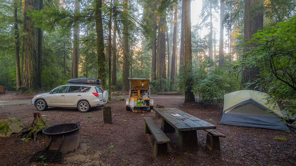 Yosemite rv camping with hookups