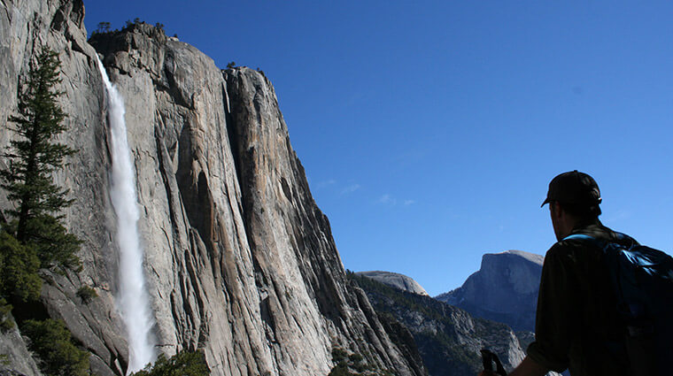 Upper Yosemite Falls Trail. Photo by Noel Morrison.