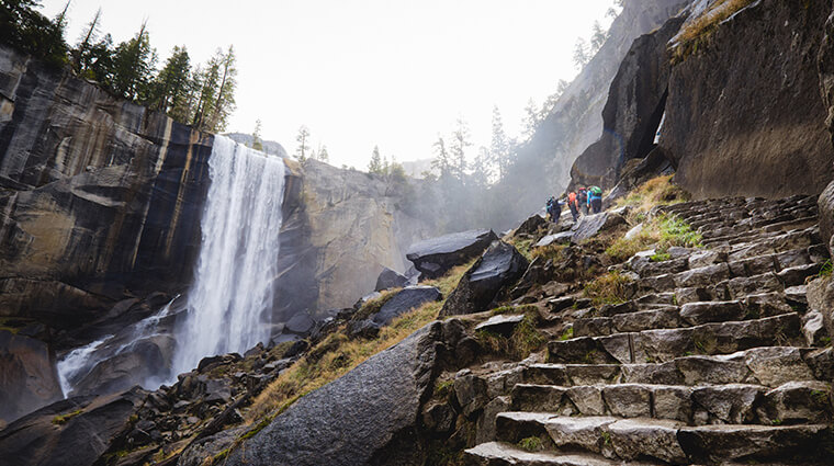 Vernal Fall by Patrick Pike | vernal falls hike