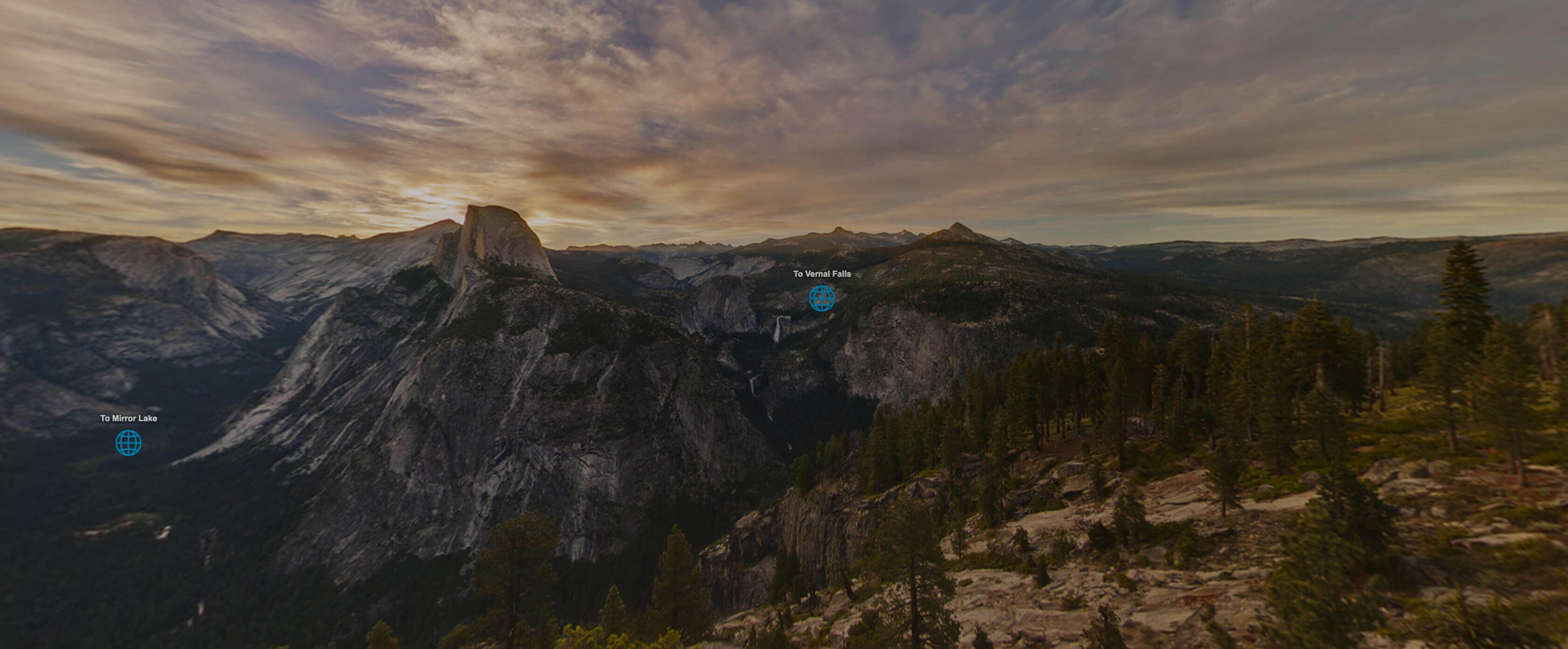 Explore Yosemite Virtual Tour