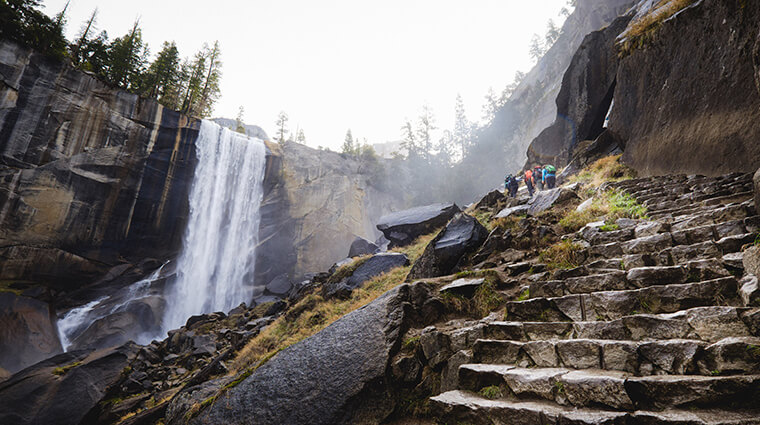 Vernal Fall Yosemite