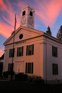 Mariposa Courthouse in Mariposa, CA
