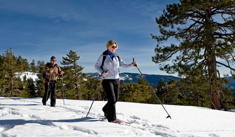 Cross Country Skiing at Yosemite's Badger Pass Ski Area