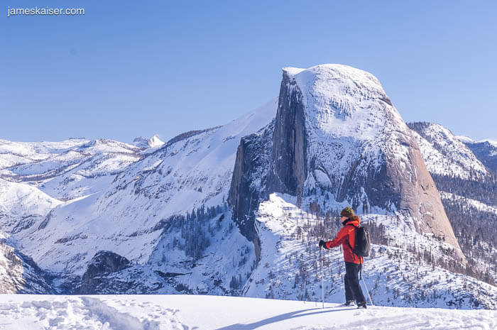 Cross Country Skiing to Glacier Point