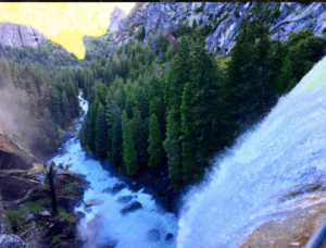 John Muir Trail and Vernal Fall Photo by @Elizabeth_Outdoors
