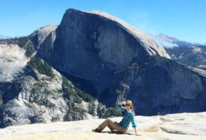 north dome hike yosemite