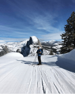 Glacier Point -cross country skiing