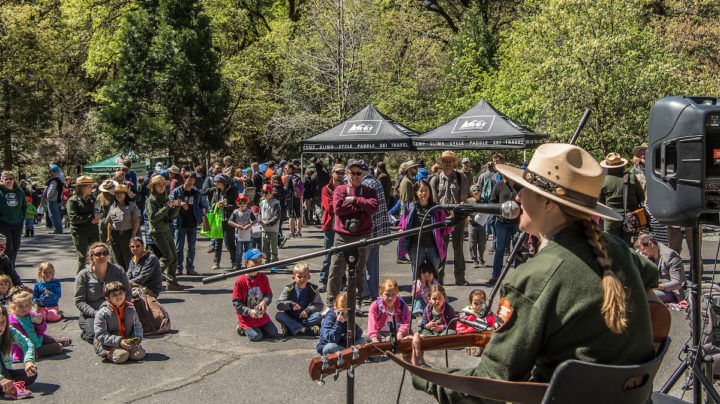 Earth Day Festival in Yosemite National Park