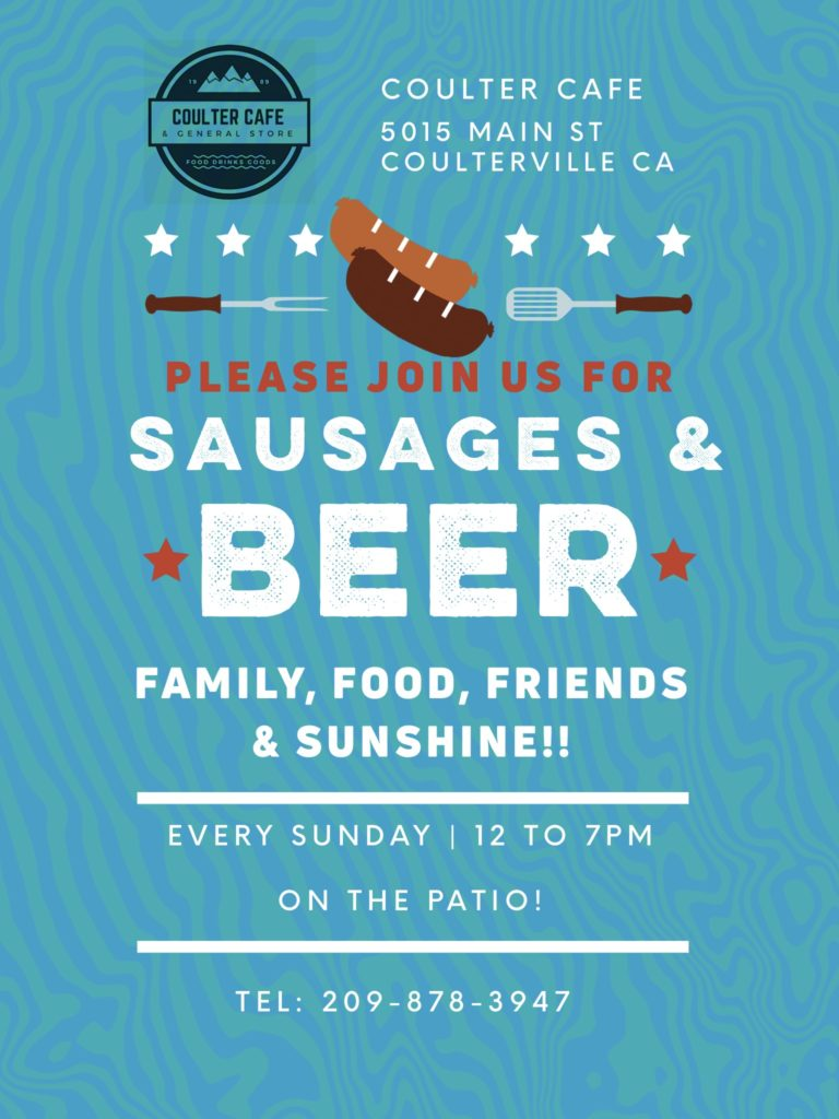 Sunday Sausages & Beer