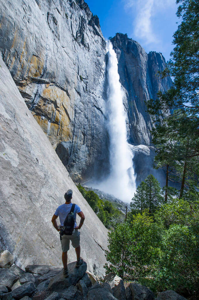 Upper Yosemite Fall, Hike, waterfall