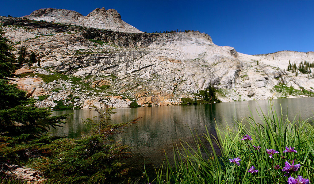 View from May Lake in Yosemite