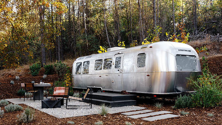 Airstream Trailer, AutoCamp Yosemite