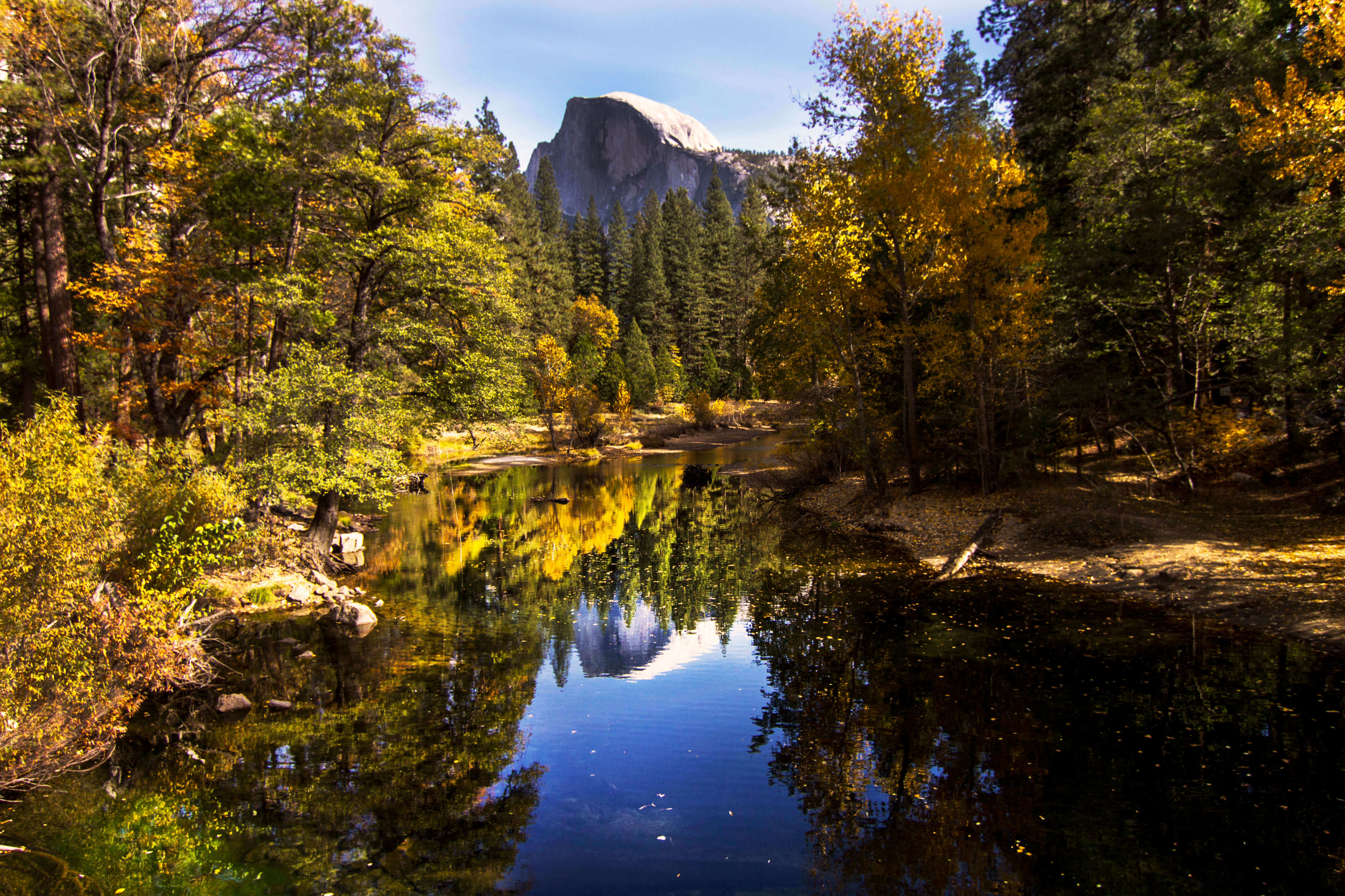 Leaf Peeping Through Instagram Posts: Where to Get Photos of Fall Leaves in Yosemite