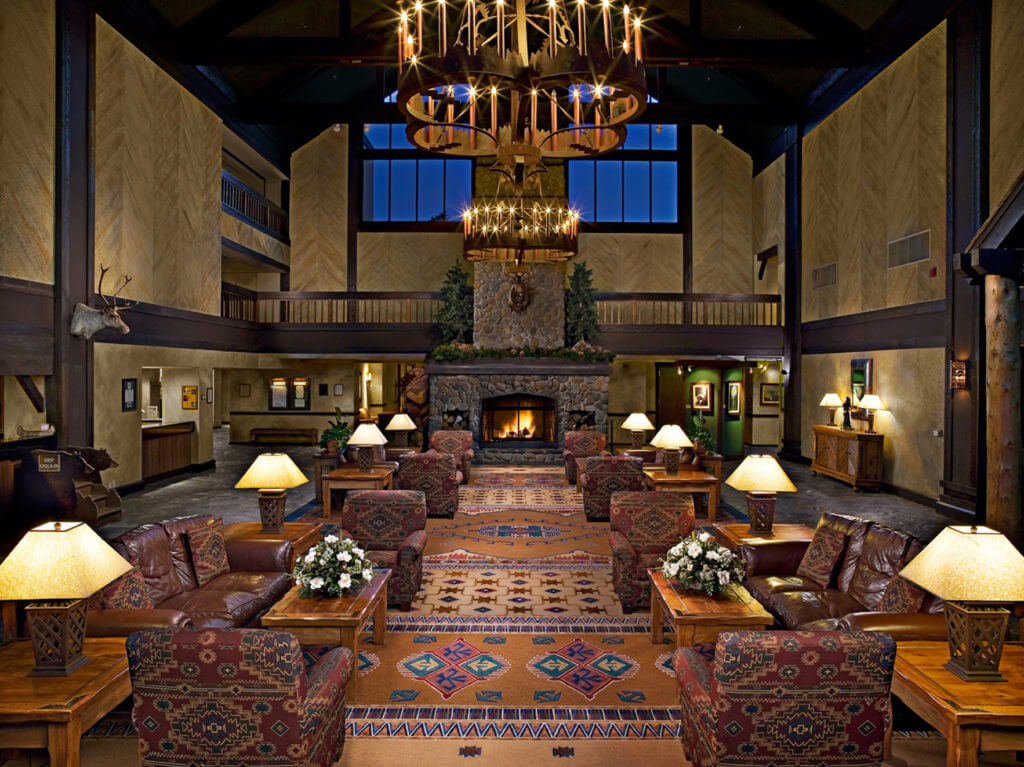 Tenaya Lodge at Yosemite Lobby