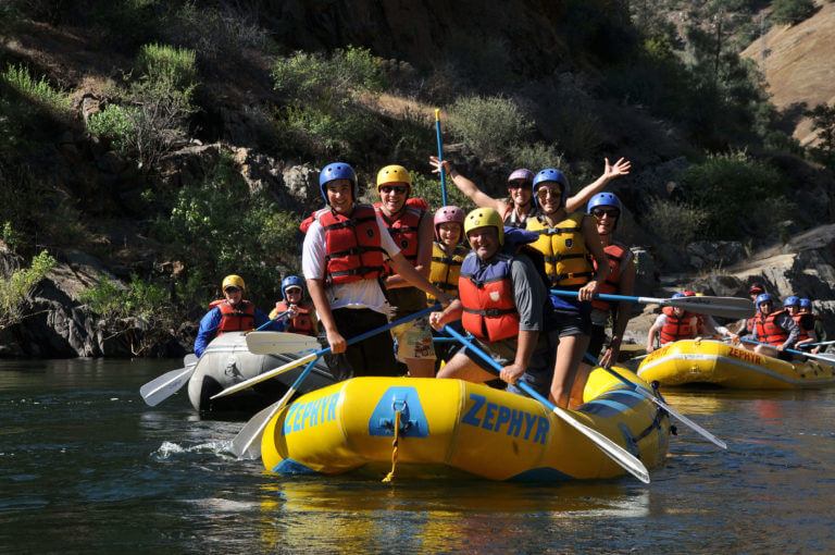 Rafting with Zephyr Whitewater Expeditions