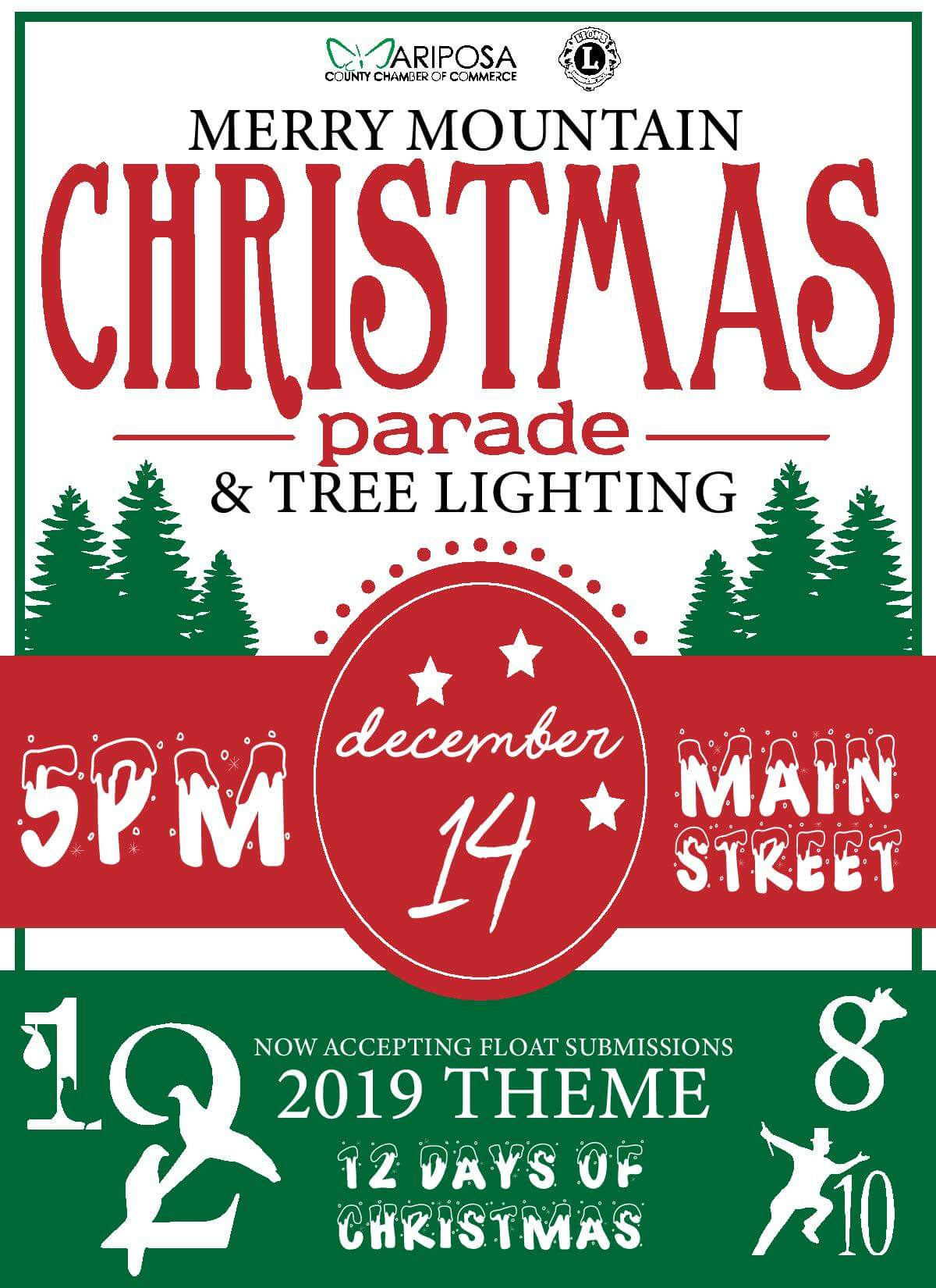 Annual Merry Mountain Christmas Parade and Tree Lighting