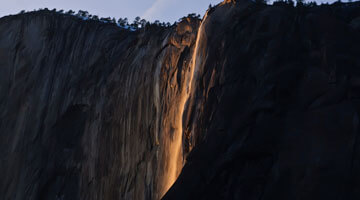 A Guide to the Natural Yosemite Firefall - Horsetail Fall