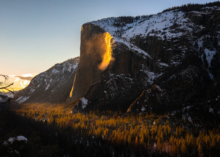 A Guide to the Natural Yosemite Firefall – Horsetail Fall