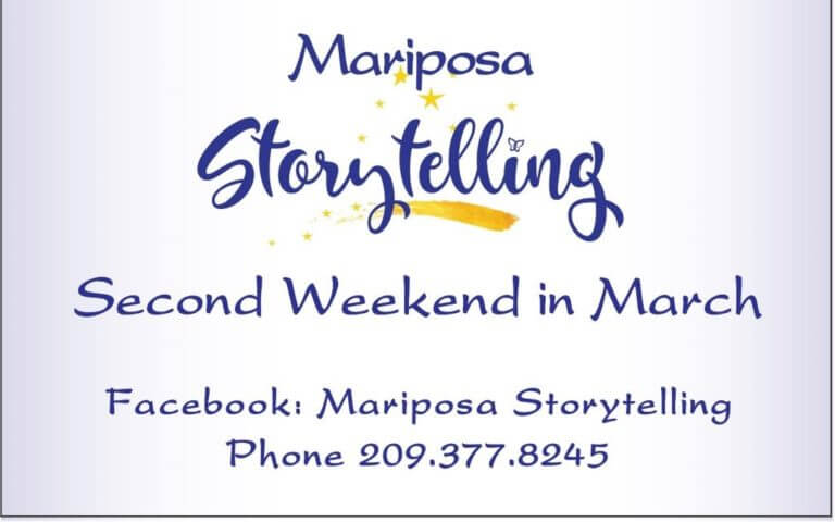 33rd annual Mariposa Storytelling Week