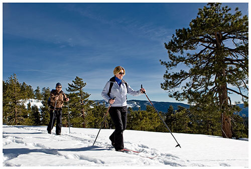 Cross Country Skiers at Badger Pass