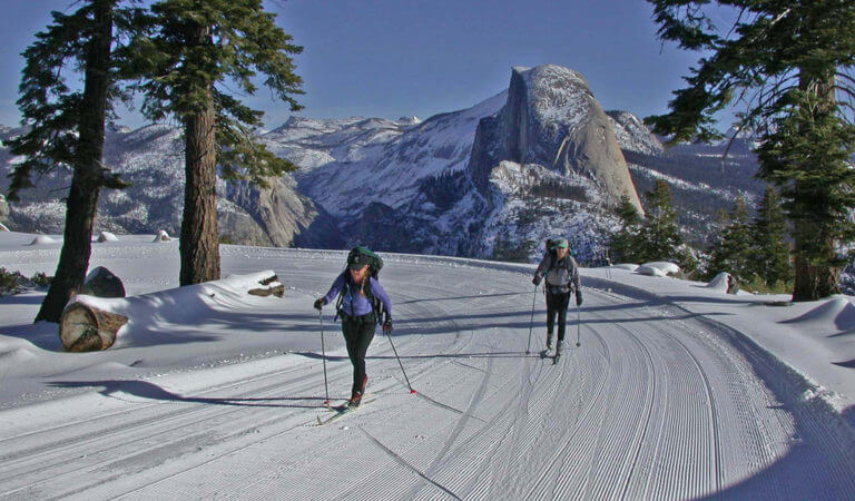 Cross Country Skiing in Yosemite