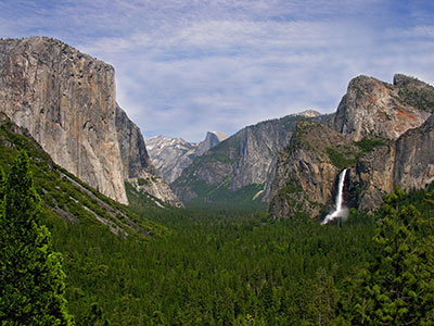 Yosemite National Park is open. Reservations will be required to enter beginning May 21.