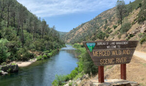 Merced River in the Sierra National Forest