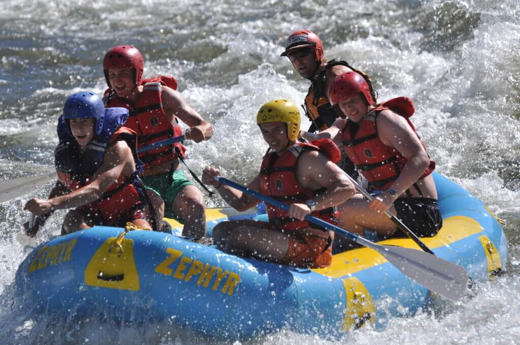 whitewater rafting outdoor adventure travel