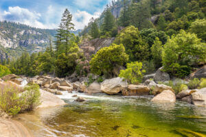 Merced River in Mariposa County