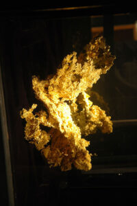 Fricot Gold Nugget at the Mining & Mineral Museum