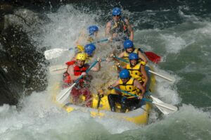 Stanislaus National Forest rafting