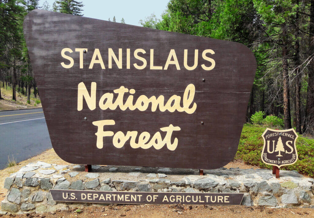 Stanislaus National Forest camping