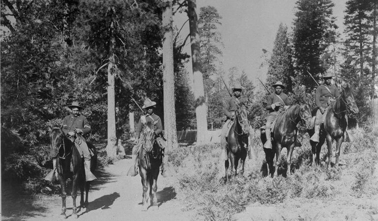 The Buffalo Soldiers of Yosemite