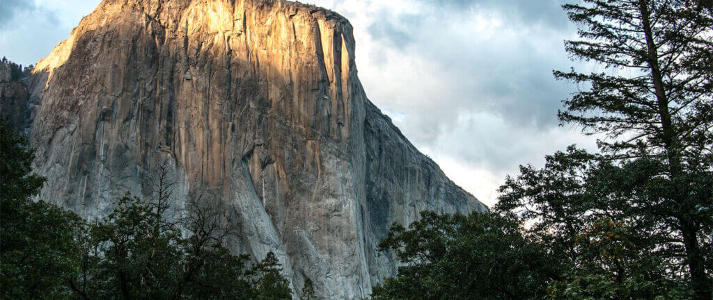 El Capitan at Sunset - view of heart