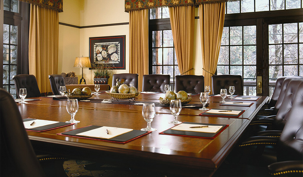 Meeting Rooms at The Ahwahnee hotel