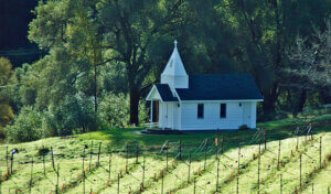 The chapel at Butterfly Creek Winery