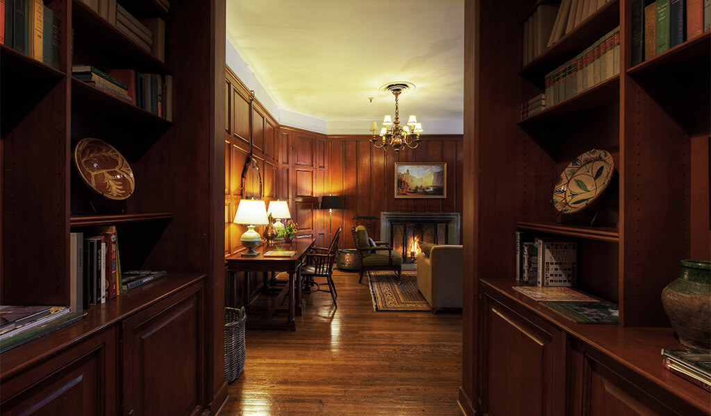 The library suite at The Ahwahnee hotel