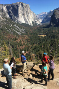 Group on a Yosemite Conservancy tour